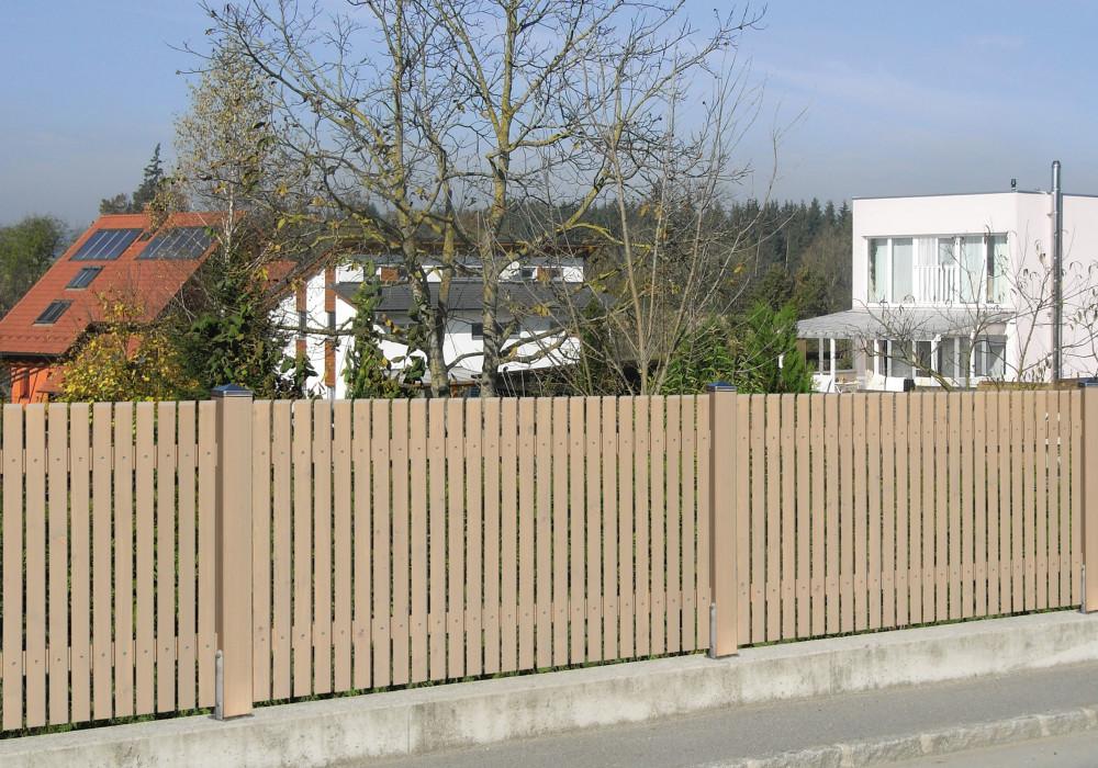 Sichtschutzzaun Holz Rhombus ~ Sichtschutzzaun Rhombus  Oberfläche Lasur