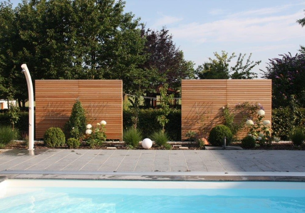 Lieblich Sichtschutzzaun   Perfekt Für Pool Geeignet
