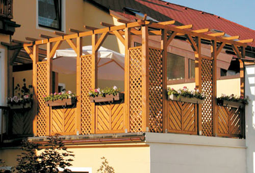 pergola perfekter sichtschutz f r den garten penmie bee. Black Bedroom Furniture Sets. Home Design Ideas