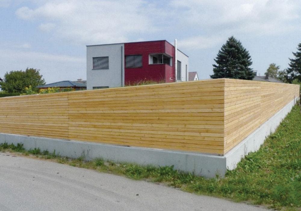 Sichtschutz waagrecht ihre nr 1 f r sichtschutzz une - Holzzaun modern ...