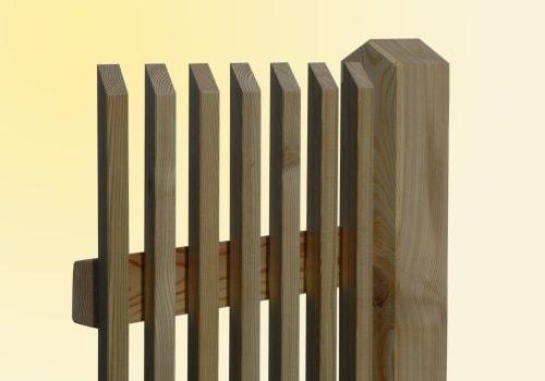 Sichtschutzzaun Holz Aufbauen ~ Sichtschutzzaun Aus Holz Richtig Pflegen Und Streichen So Geht S