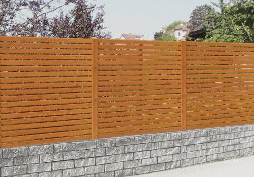 Sichtschutz Holz Nicht Streichen ~ Sichtschutz Aus Holz Sein So Wird Ihrem Garten Eine Private Oase
