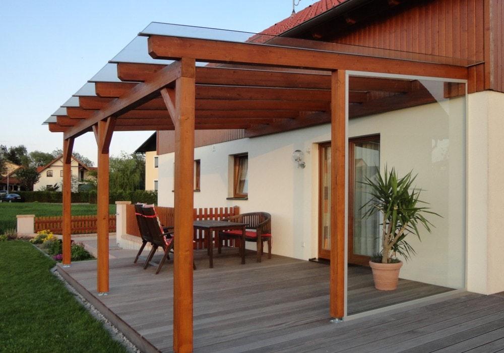 berdachung terrasse holz kr54 kyushucon. Black Bedroom Furniture Sets. Home Design Ideas