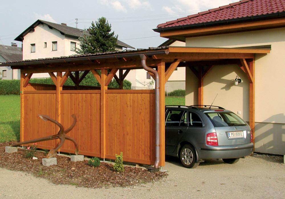 Carport: Carports & Doppelcarports aus Holz für Ihr Auto