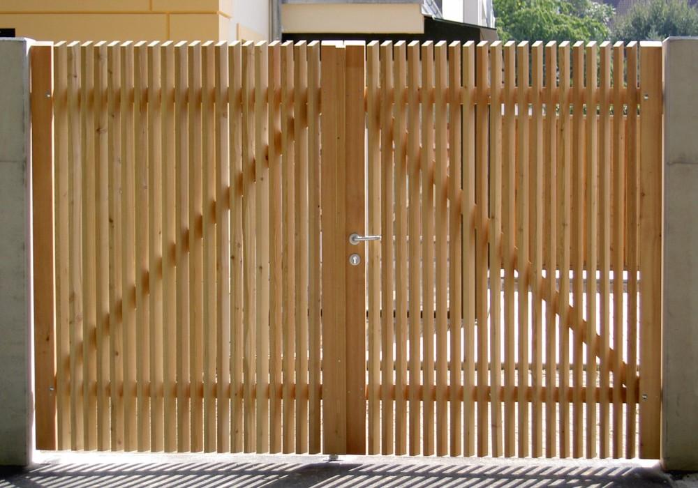 Sichtschutz Holz Lamellenzaun ~   produktseite sichtschutz lamellenzaun technik sichtschutz lamellenzaun