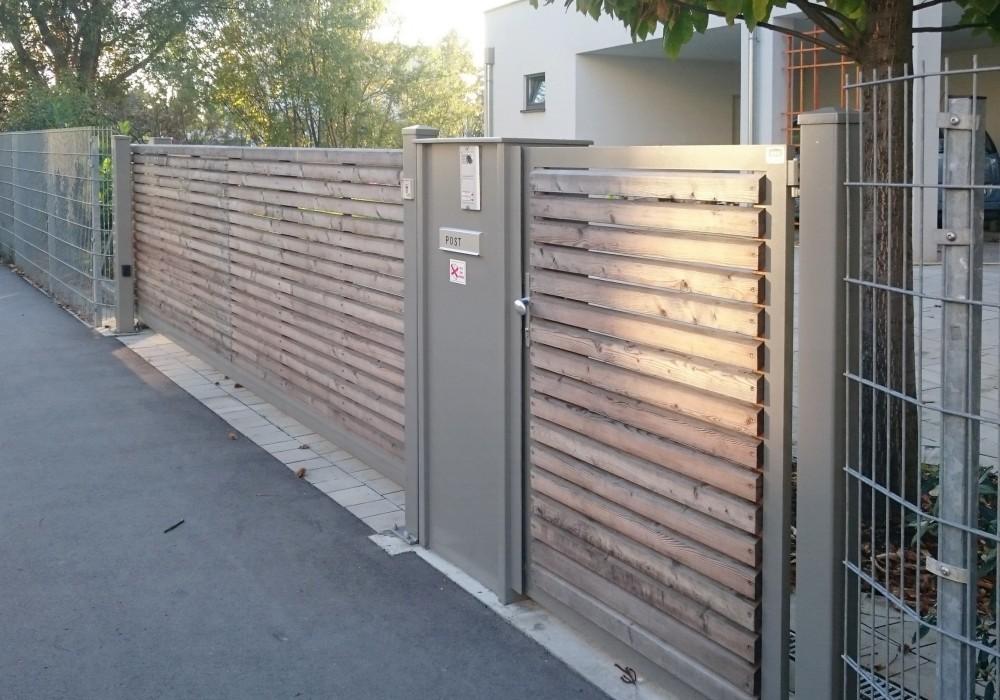 Einfahrtstore mit antrieb 30 - Schiebetor scheune selber bauen ...